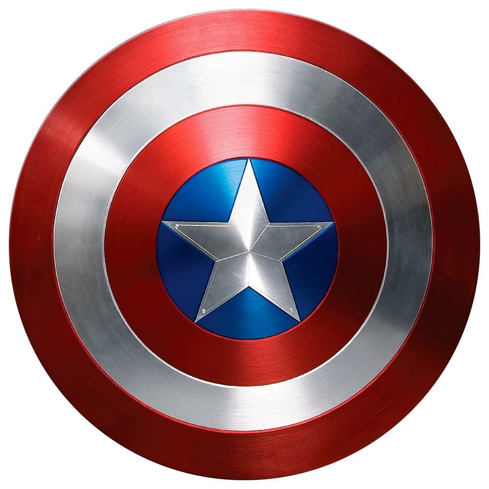 Adesivo De Porta Escudo Capitão América Vingadores 50x50cm