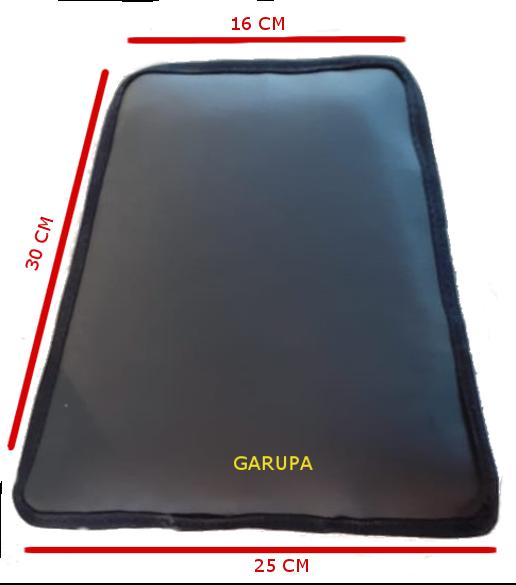 Almofada Gel Garupa RR-x Para Motos - 005-214-RB AT