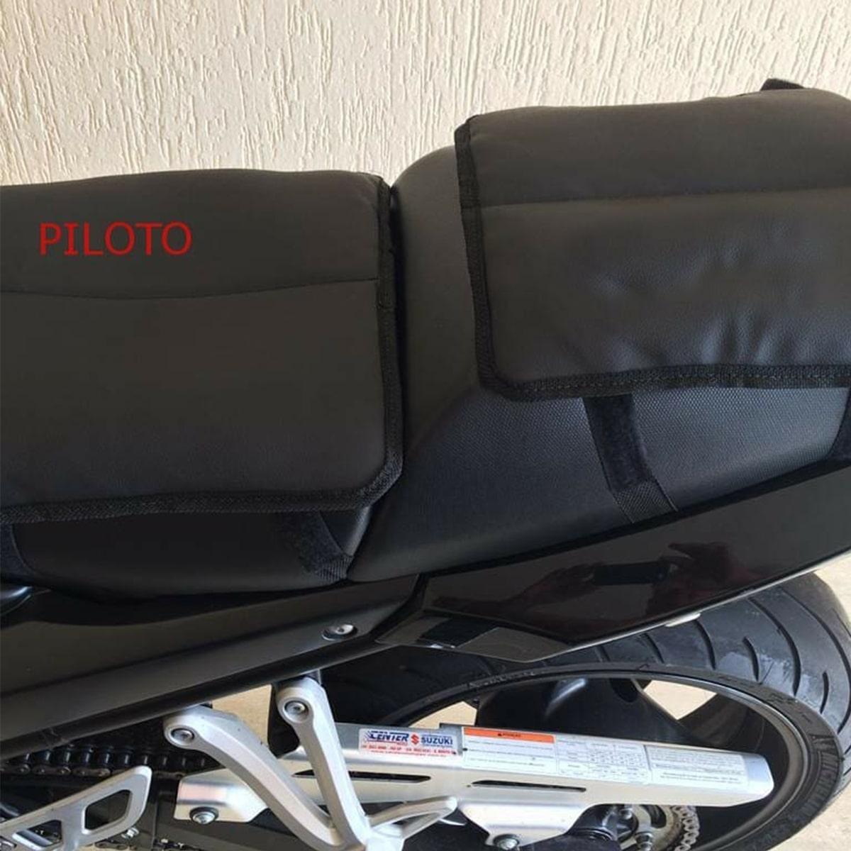 Almofada Gel Piloto Universal Para Motos - 005-777-RB AT