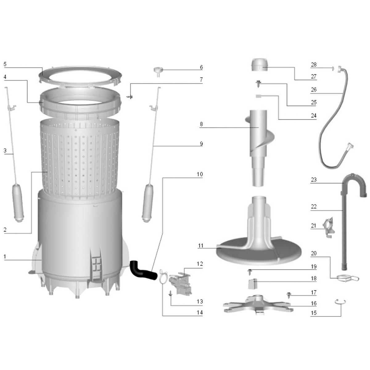 Anel Compensador Hidro  Original Lavadora De Roupas Electrolux -  70094572