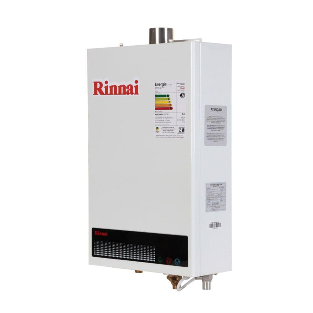 Aquecedor de Água a Gás 12L GN Rinnai REU-1002 FEH