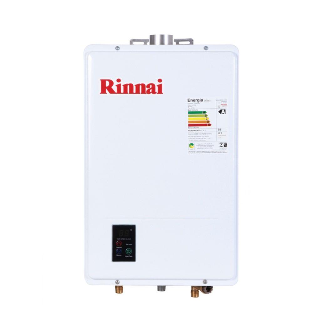 Aquecedor de Água a Gás 22,5L GLP Rinnai REU-1602 FEH