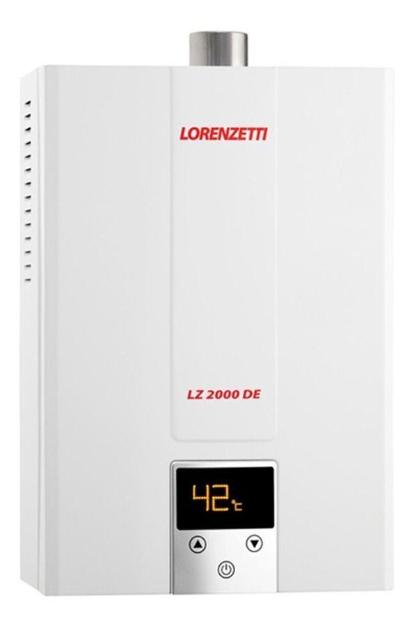 Aquecedor de Água a Gás LZ 2000DE GN 20l/min Lorenzetti