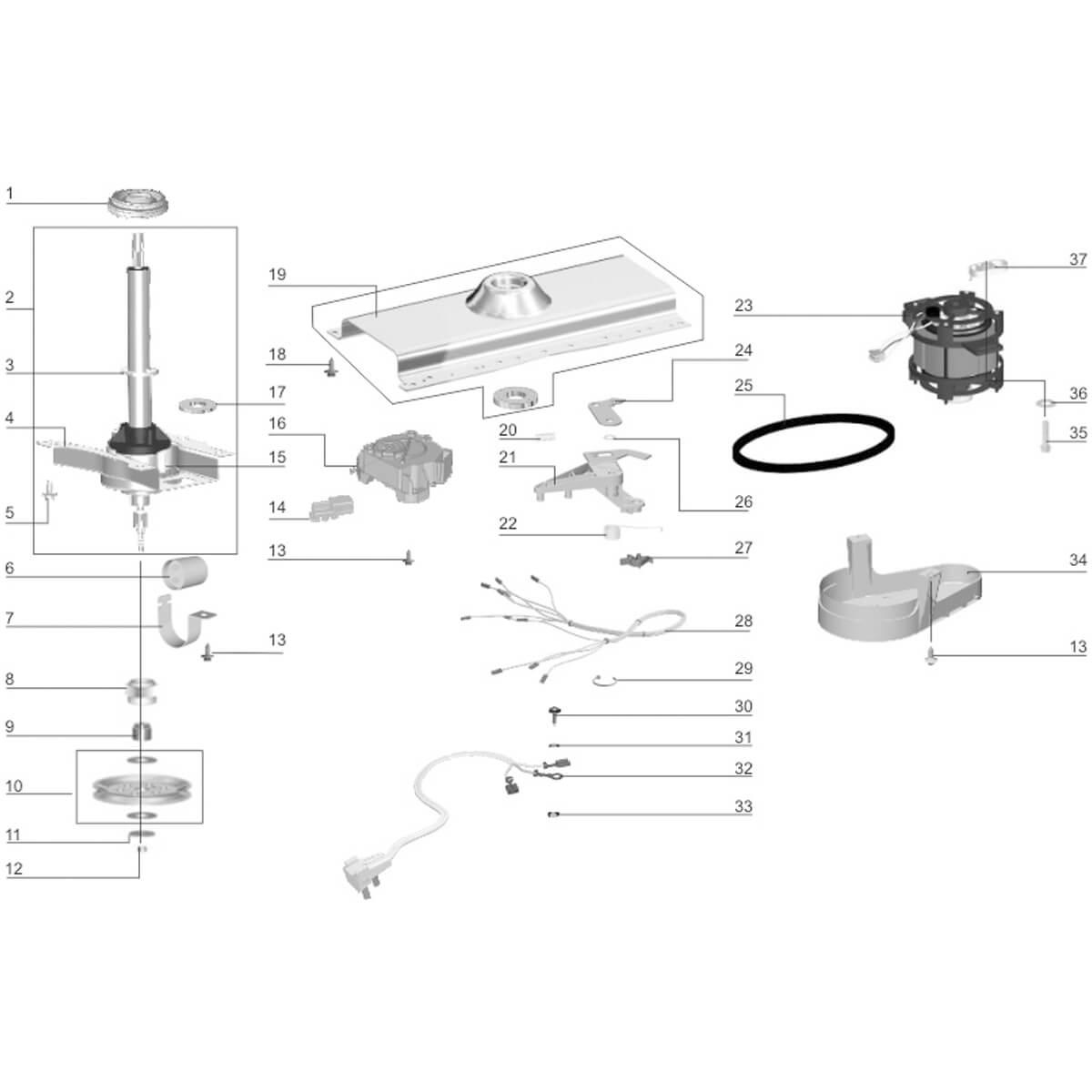 Arruela Engaste Rolamento Lavadora Electrolux - 61290897