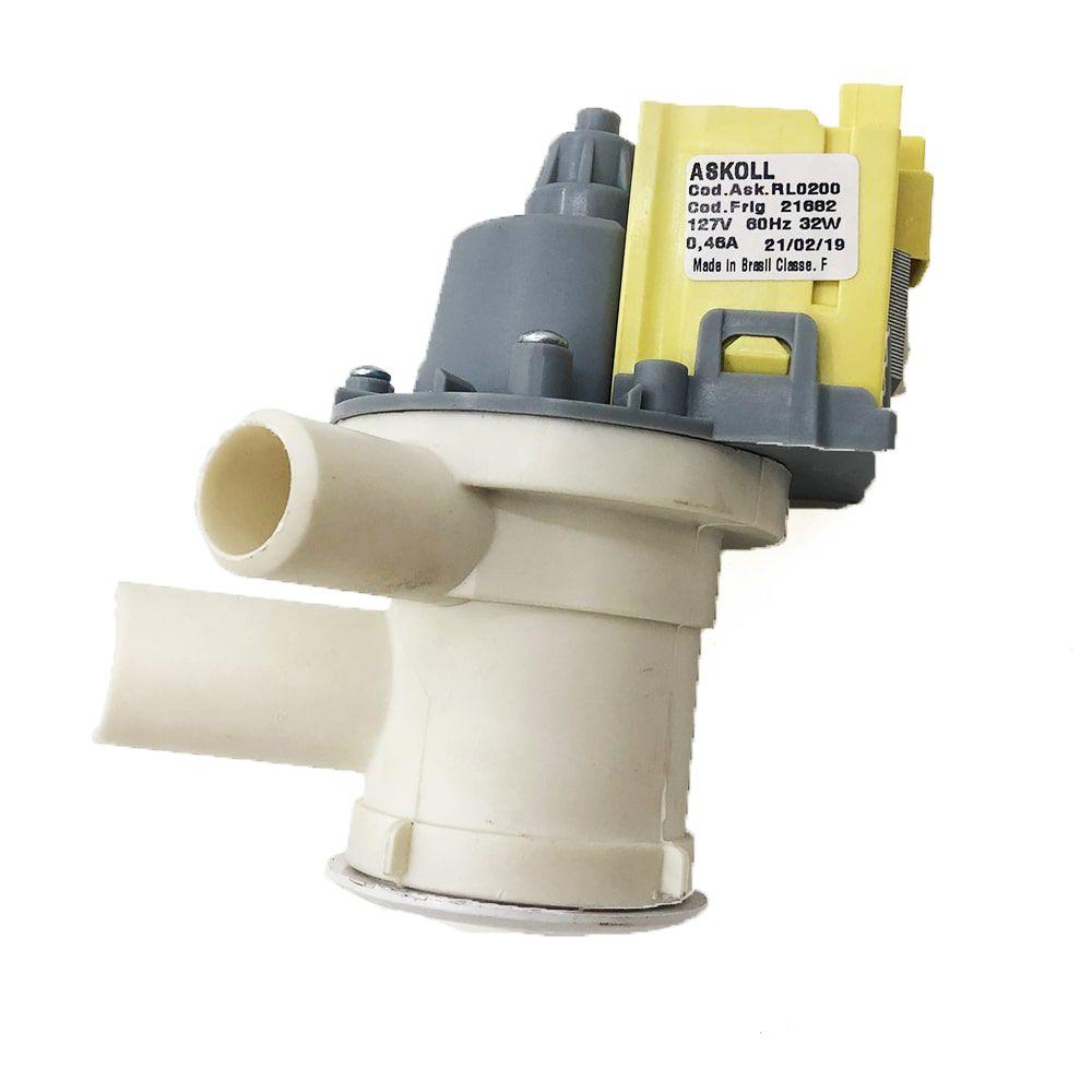 Bomba De Drenagem De Água Continental Askoll 110V Para Cervejeira Artesanal - 60225300
