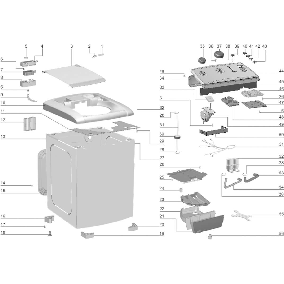 Botão Seletor De Programas Para Lavadora De Roupas Electrolux LTC10 LTC12 LB12Q LBT12 -  67400343