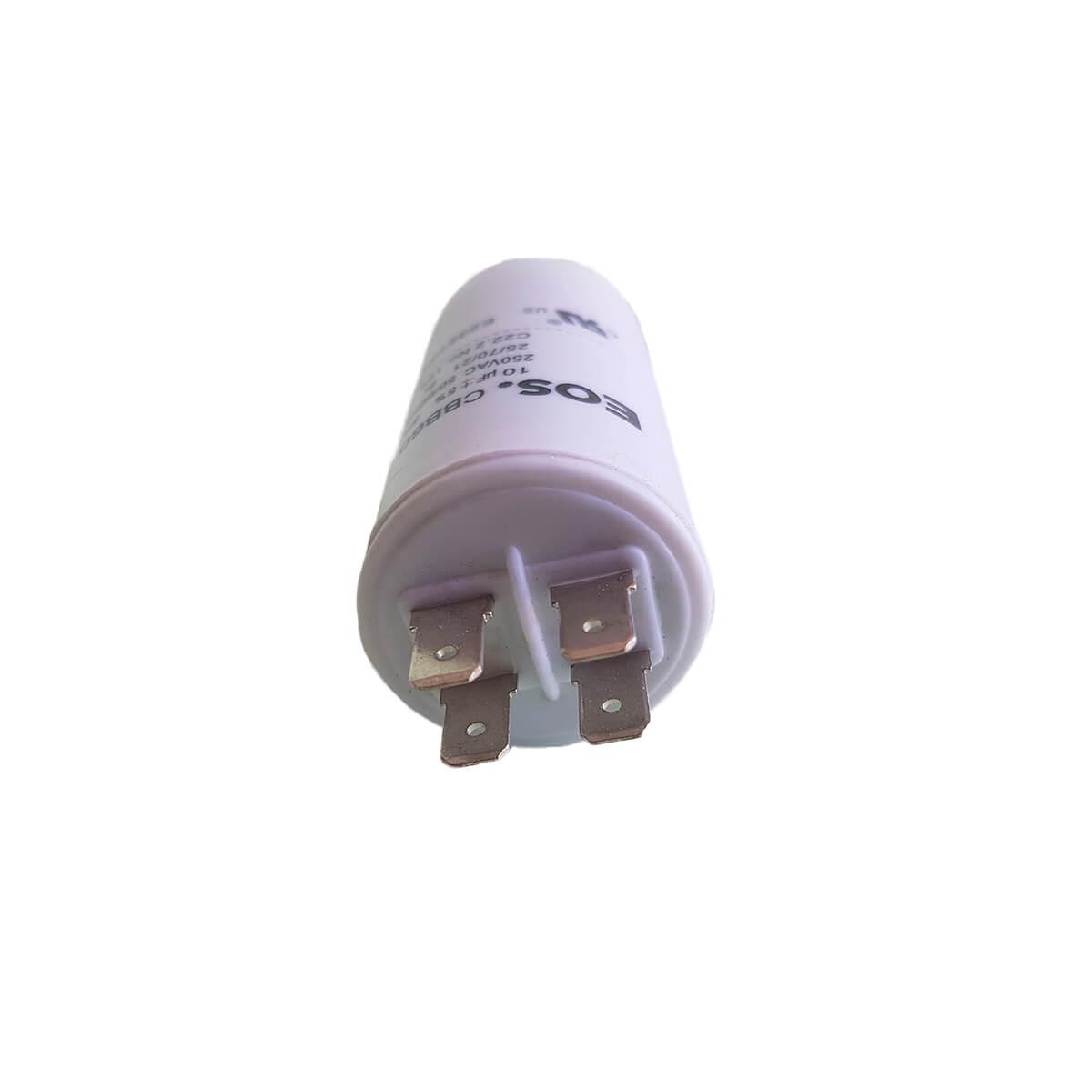Capacitor 10UMF 250v EOS Lava Louças S/fio CBB60 - M33978