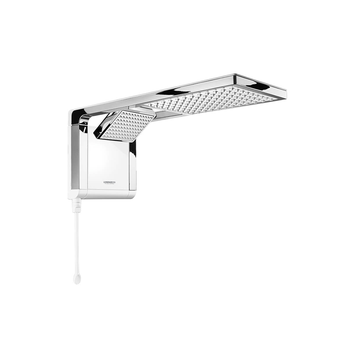 Chuveiro Acqua Duo Ultra Eletrônica 220V 7800W Lorenzetti - Branco/Cromado
