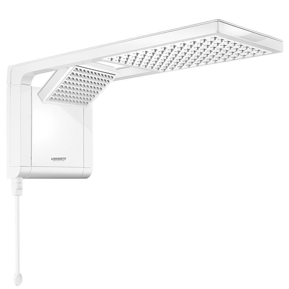 Chuveiro Acqua Duo Ultra Eletrônica 127V 5500W Lorenzetti - Branco