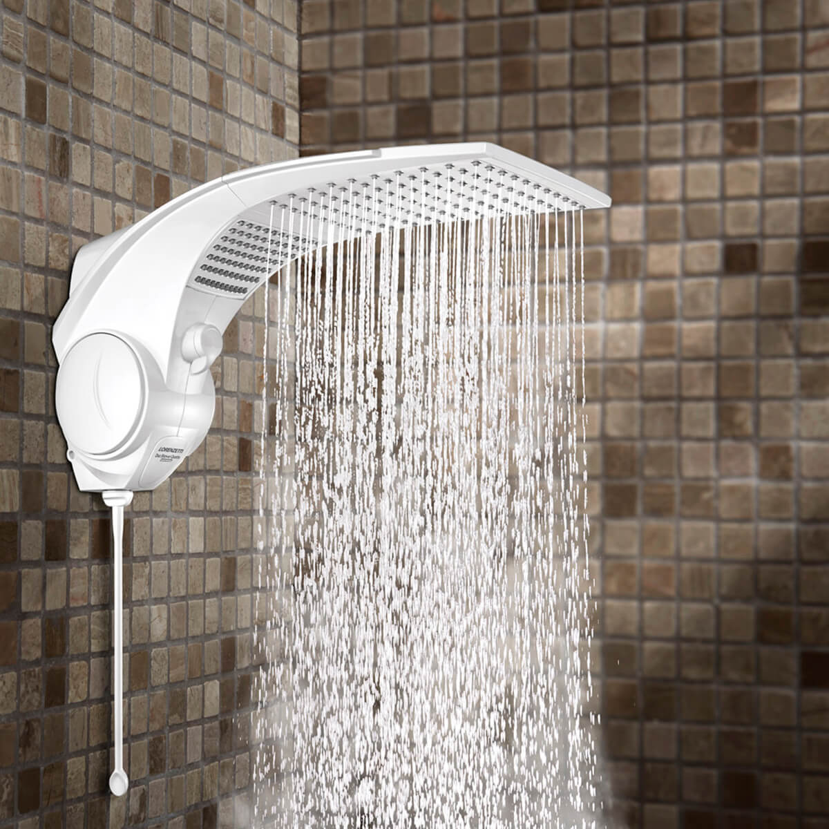 Chuveiro Ducha Duo Shower Quadra Eletrônica 220V 7500W Lorenzetti