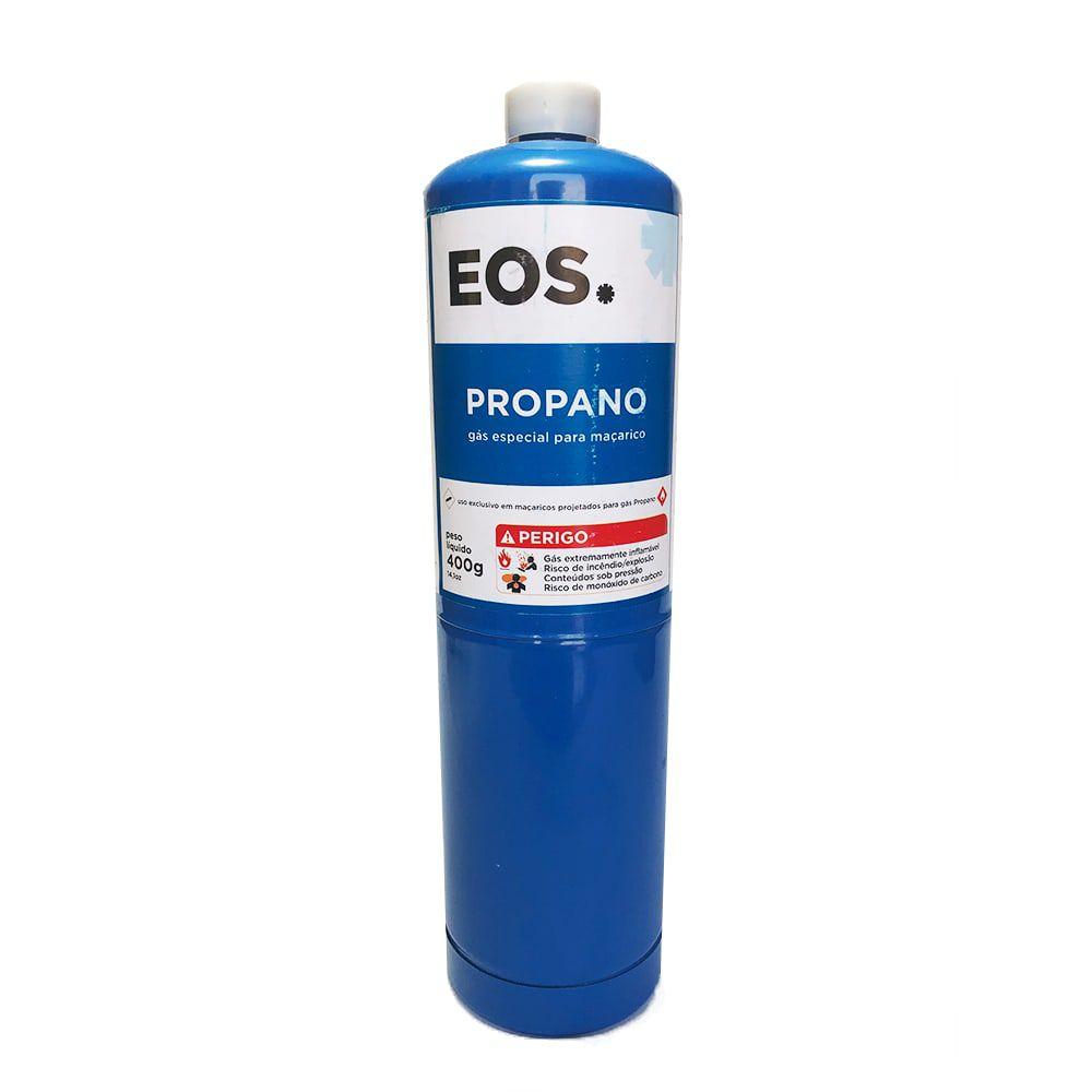 Cilindro de Gás Propano 400g EOS