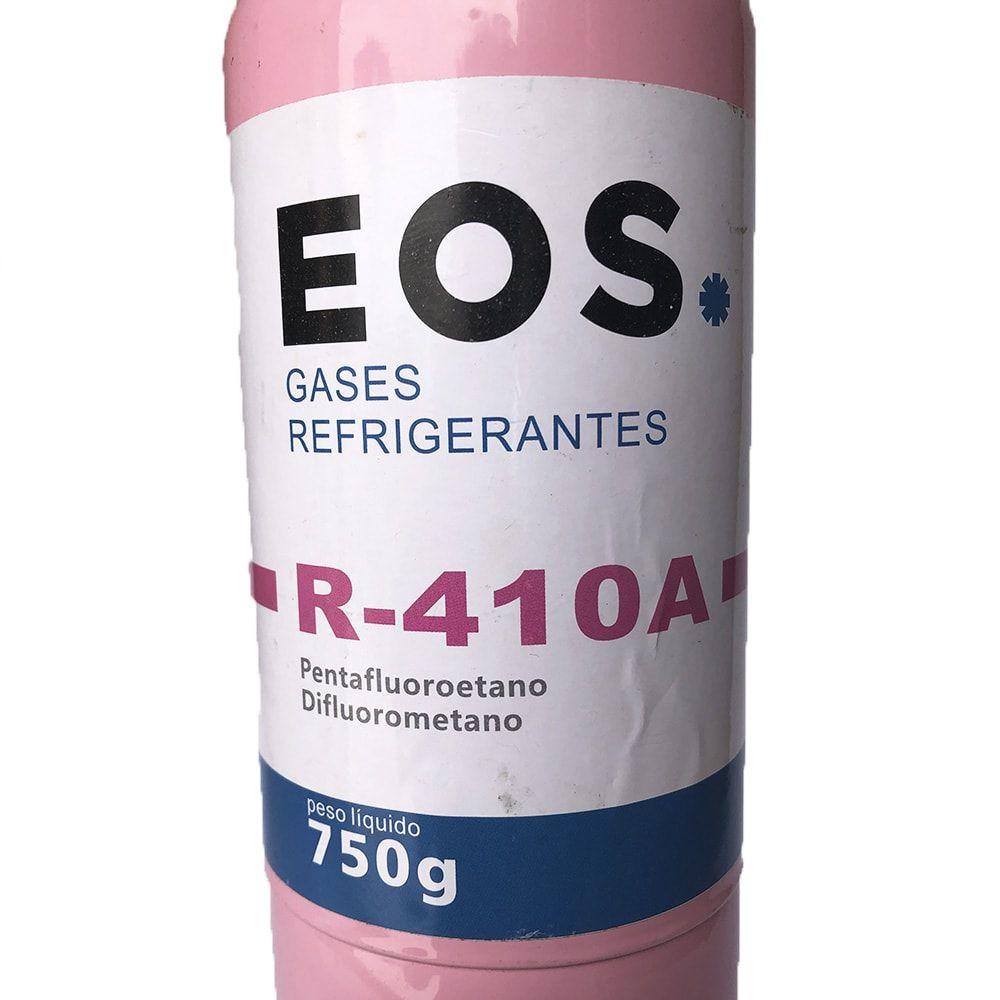 Gás Refrigerante R410 Ar Condicionado Split Inverter 750g com Válvula