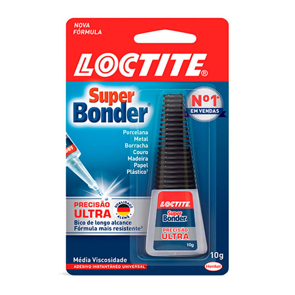 Cola Super Bonder Ultra Loctite 10g