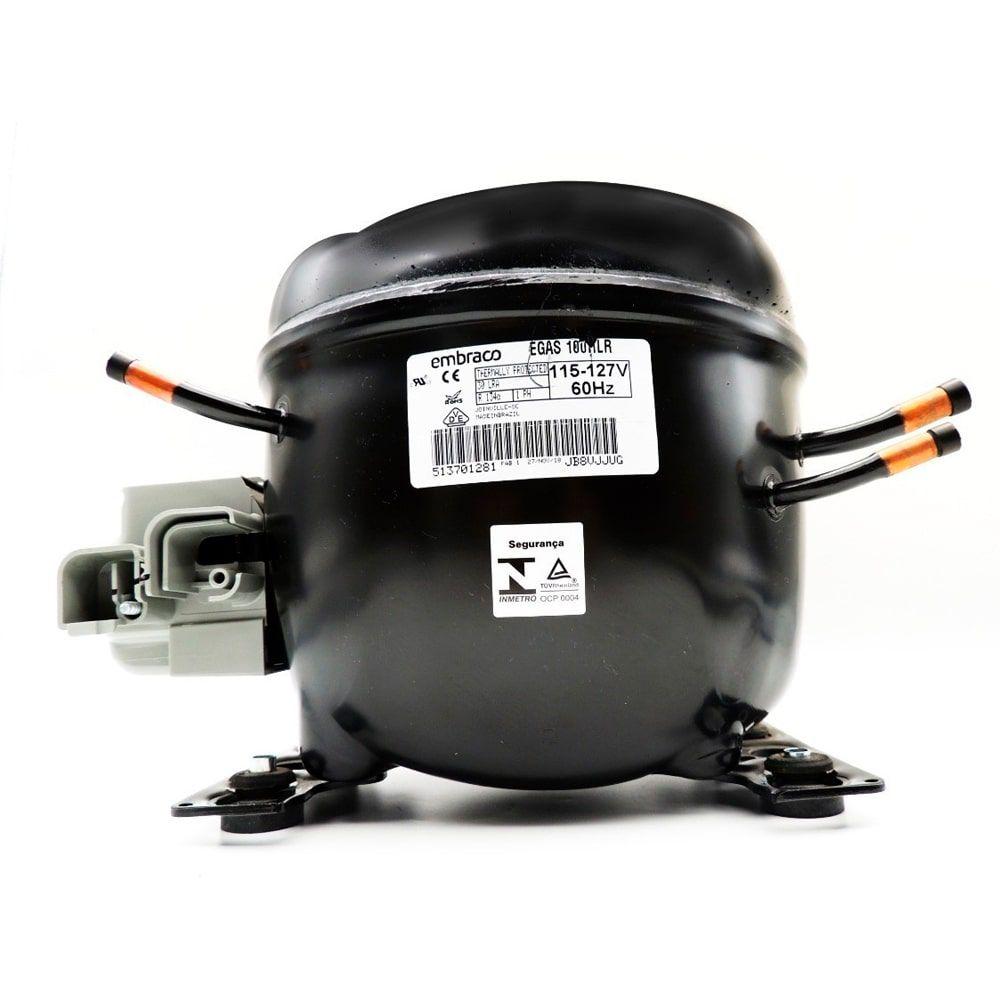 Compressor Embraco Refrigerador Electrolux EGAS100 127V 60HZ - 70200844