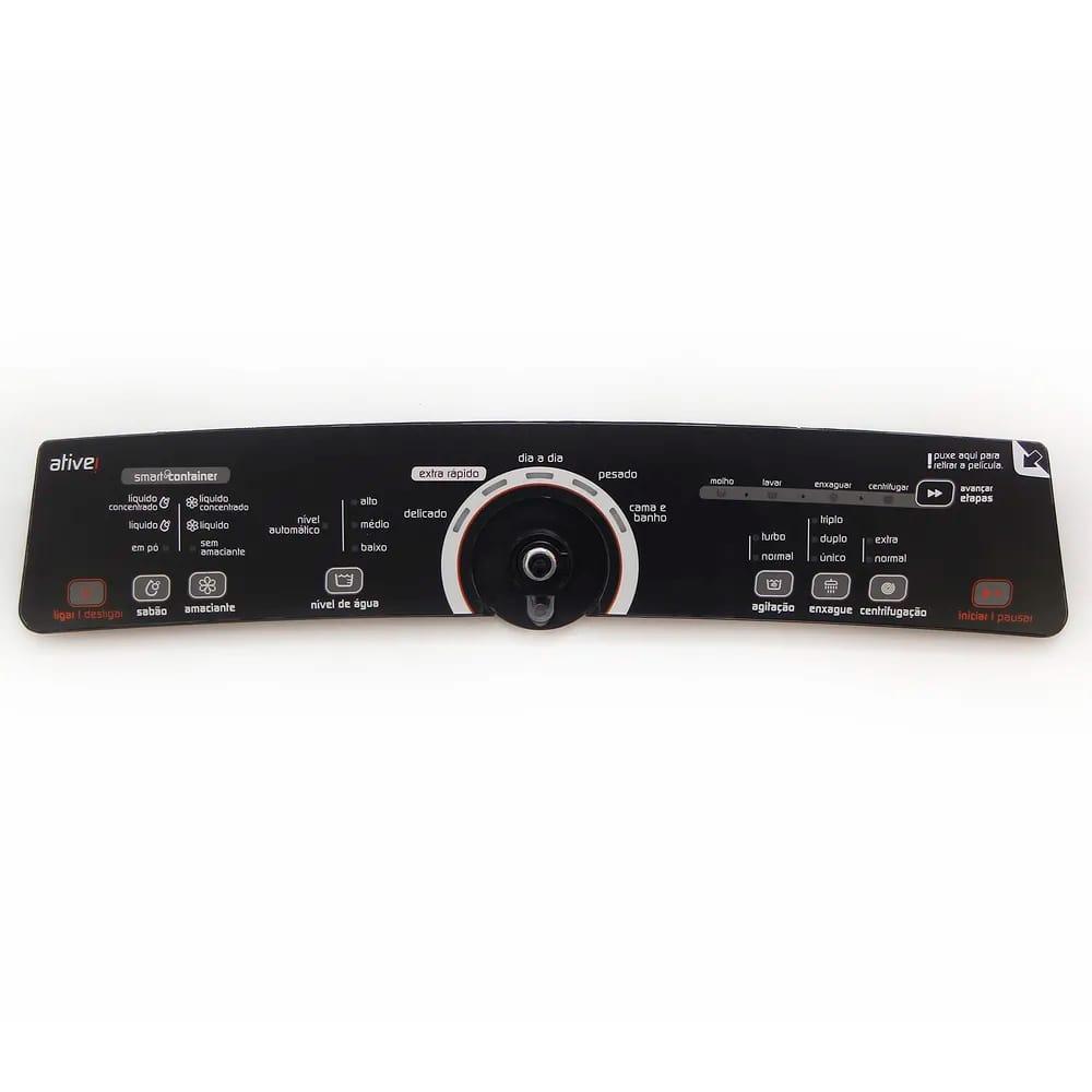 Conjunto Console E Placa De Interface Lavadora de Roupas Brastemp - W10463580