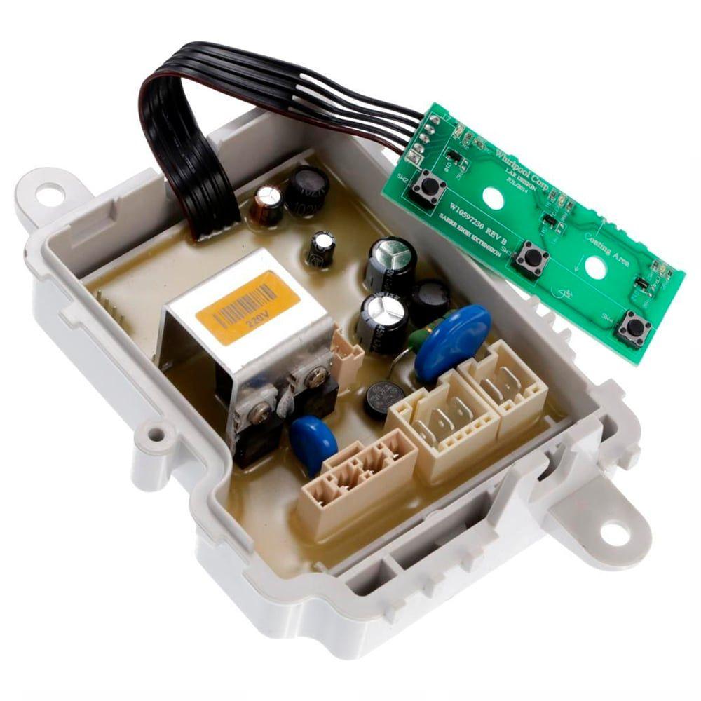 Conjunto Placa Potencia 220V Lavadora De Roupas Consul CWS11AB - W11121357