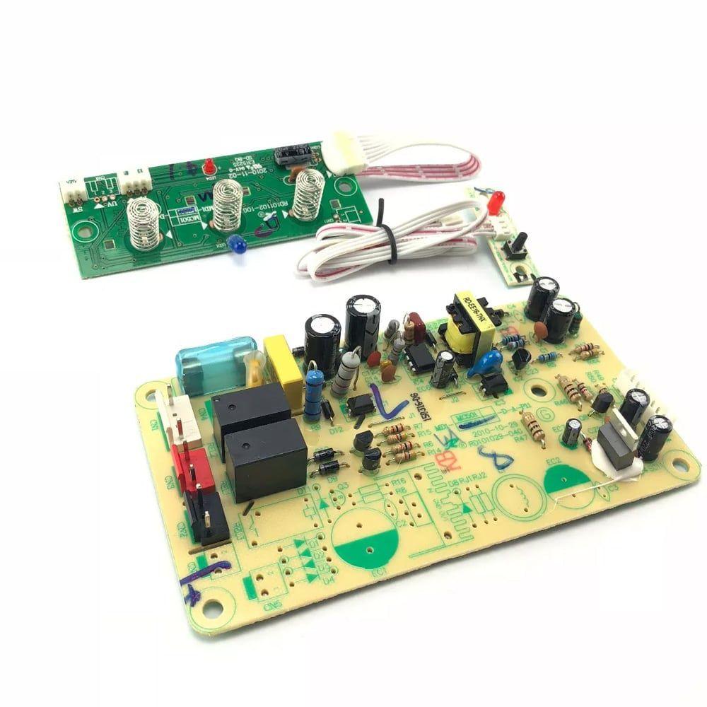 Conjunto Placa Potência e Display Para Purificador PA30G PA35G Bivolt - 306623900047
