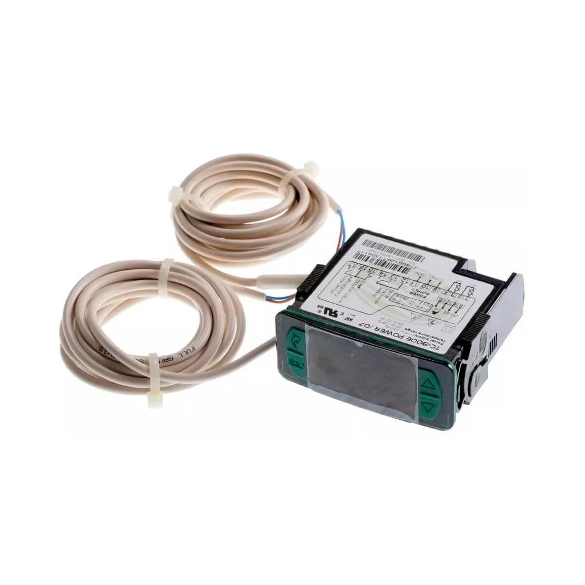 Controlador E Indicador Digital Para Refrigeração E Degelo Full Gauge Bivolt - TC-900E Power