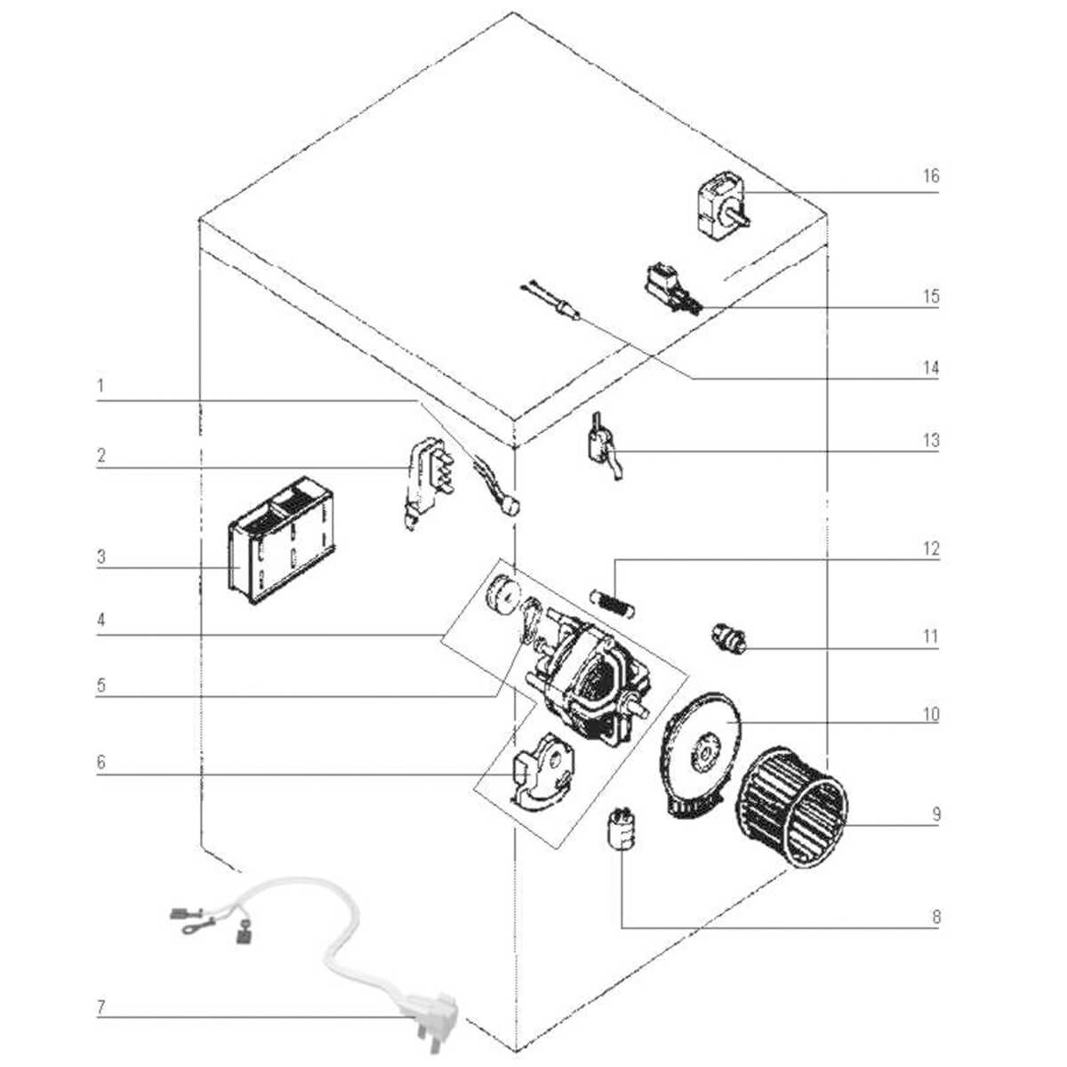 Correia Do Motor Para Secadora Se10 Electrolux - 36157009