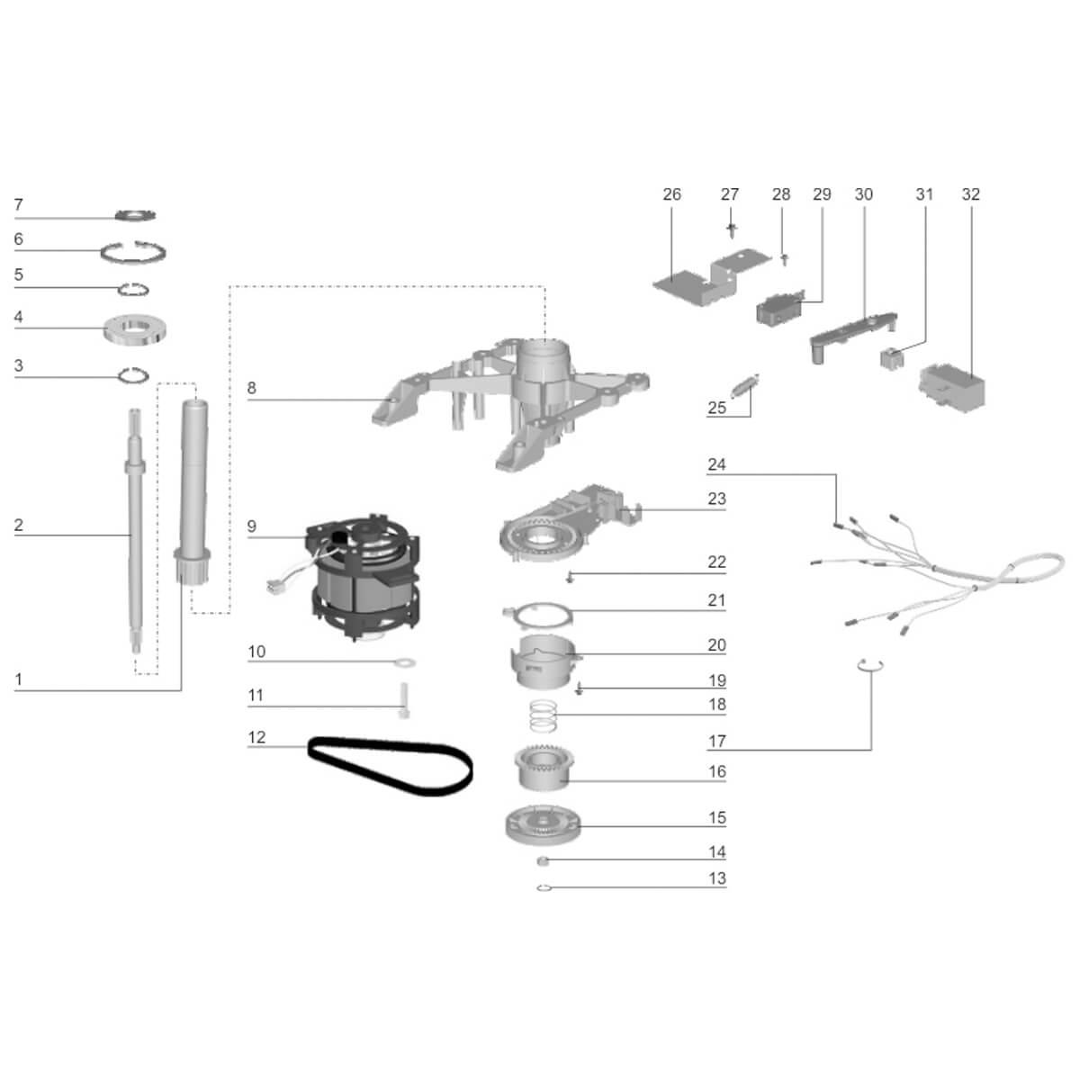 Correia Poly V Original Para Lavadora De Roupas Electrolux LT50 LT60 LTE06 LTD06 -  67400521