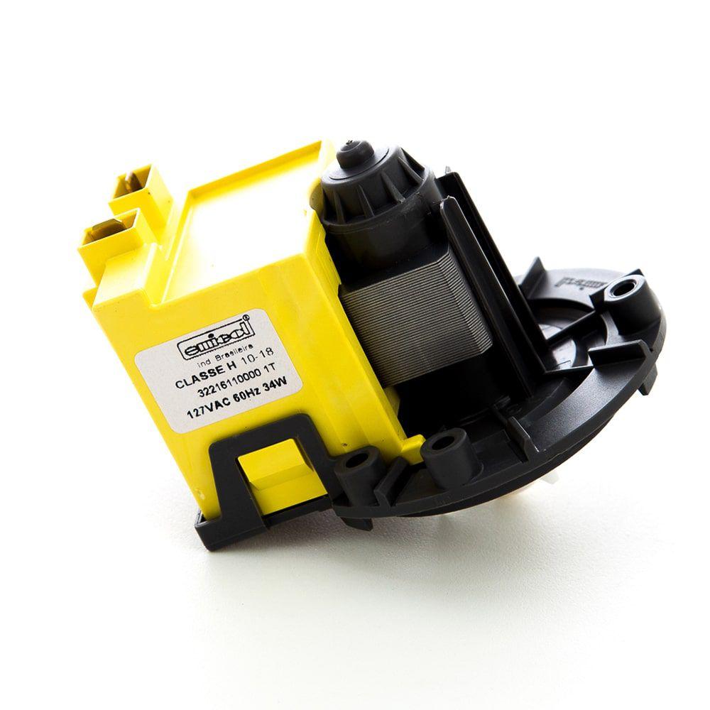 Eletrobomba De Drenagem Água Universal Para Lavadora de Roupas 110V - Emicol