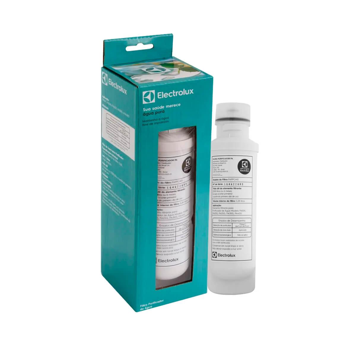 Filtro Para Purificador De Água Electrolux PA20G PA10N PA40G PA25G - 80000702
