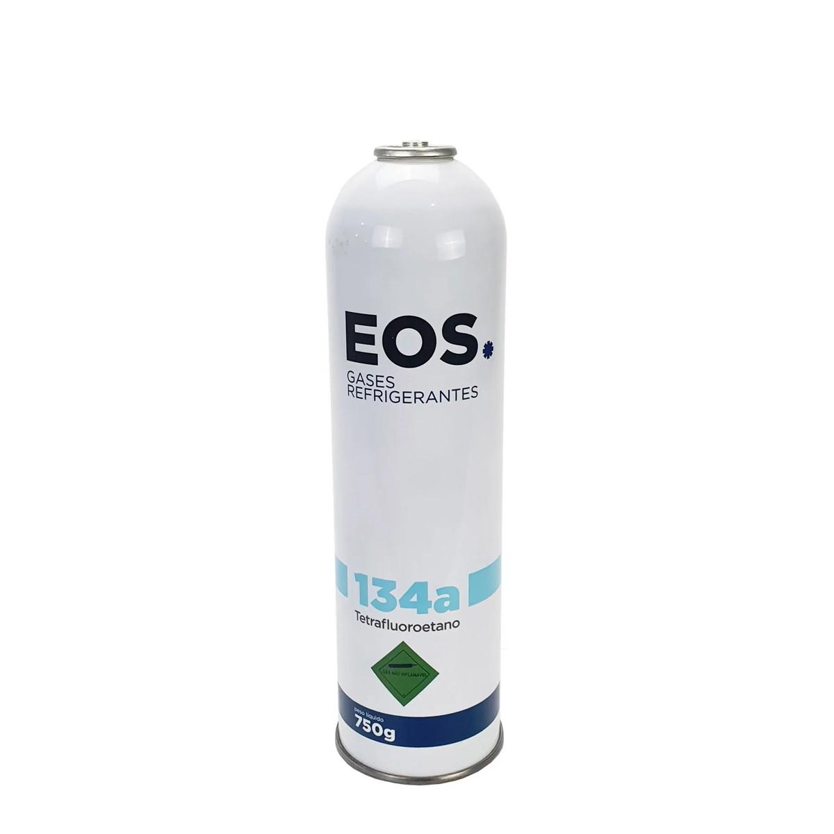 Gás Refrigerante R134A EOS Cilindro 750g