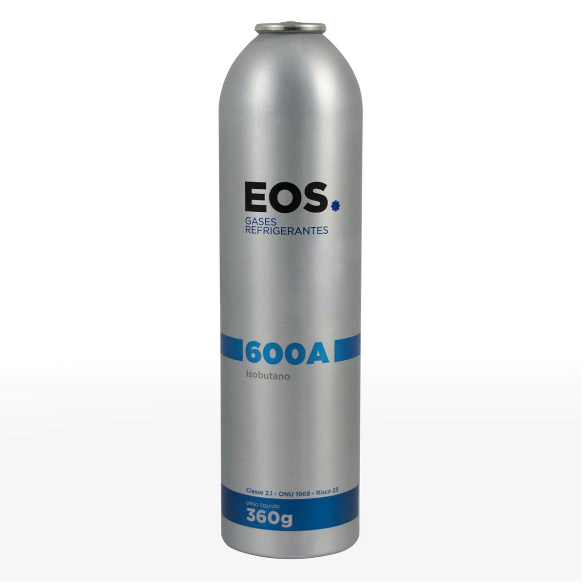 Gás Refrigerante R600a EOS Cilindro De 360g