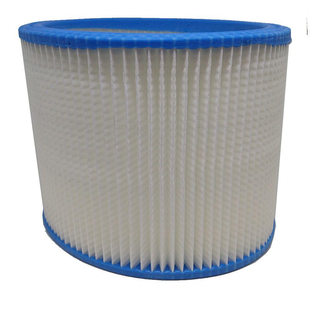 Kit 2 Unidades Filtro Permanente de Polipropileno Azul Para Aspirador H103 Plissado - 65701001I