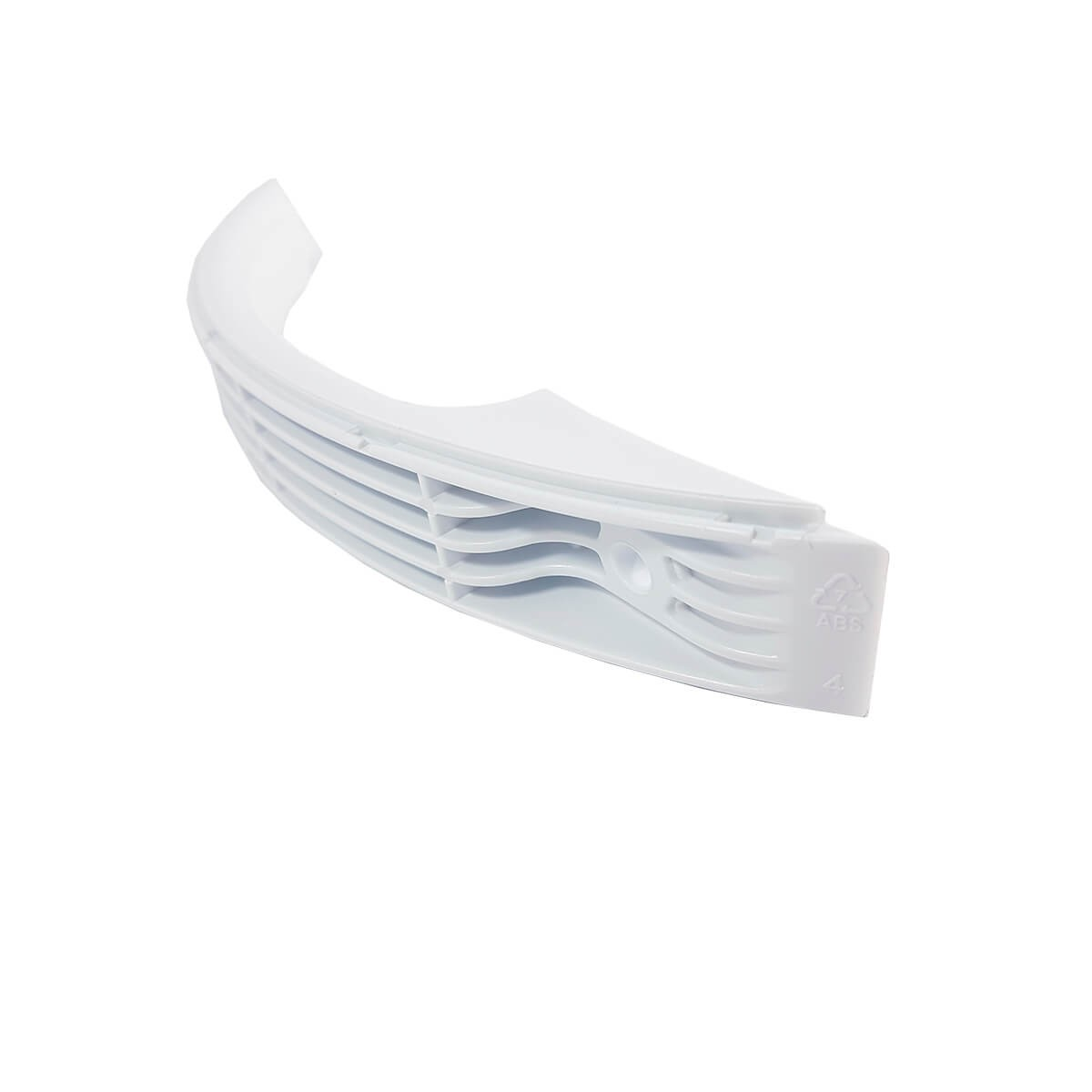 Kit Base Branca Do Puxador + Capa Do Puxador Para Refrigerador Electrolux - 67492896 / 67492897