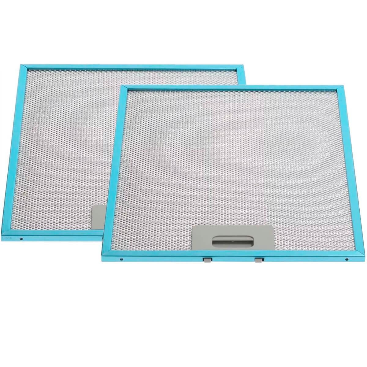 Kit Com 2 Filtros De Alumínio Coifa Depurador Electrolux CE60X CE90X - 1010GY