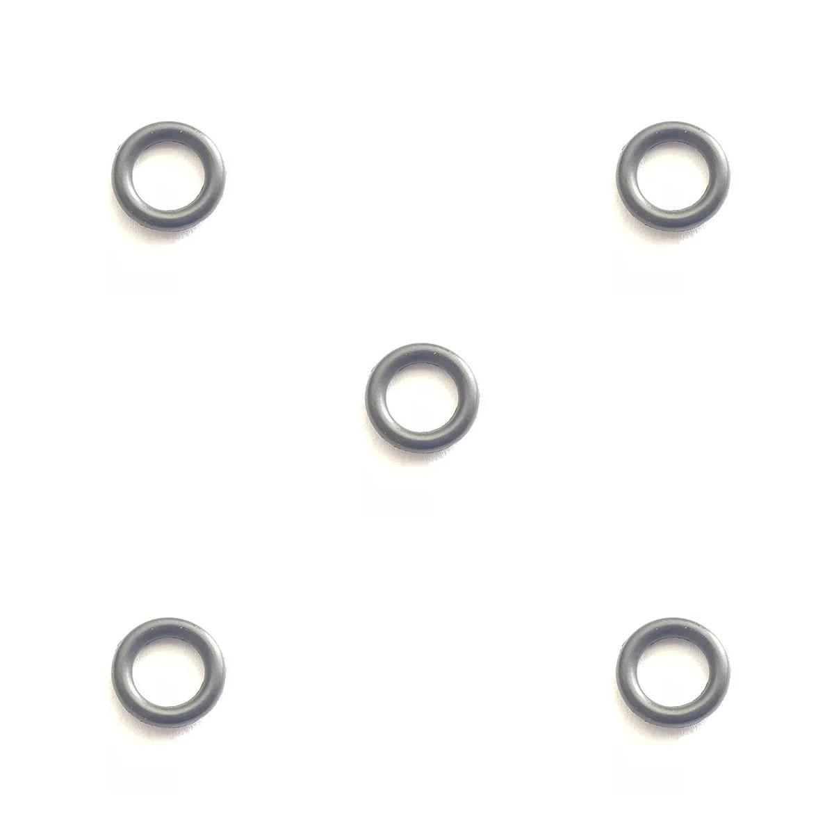 Kit com 5 Anéis De Vedação Preto Nitrílica Para Fogão/Cooktop -  004315570
