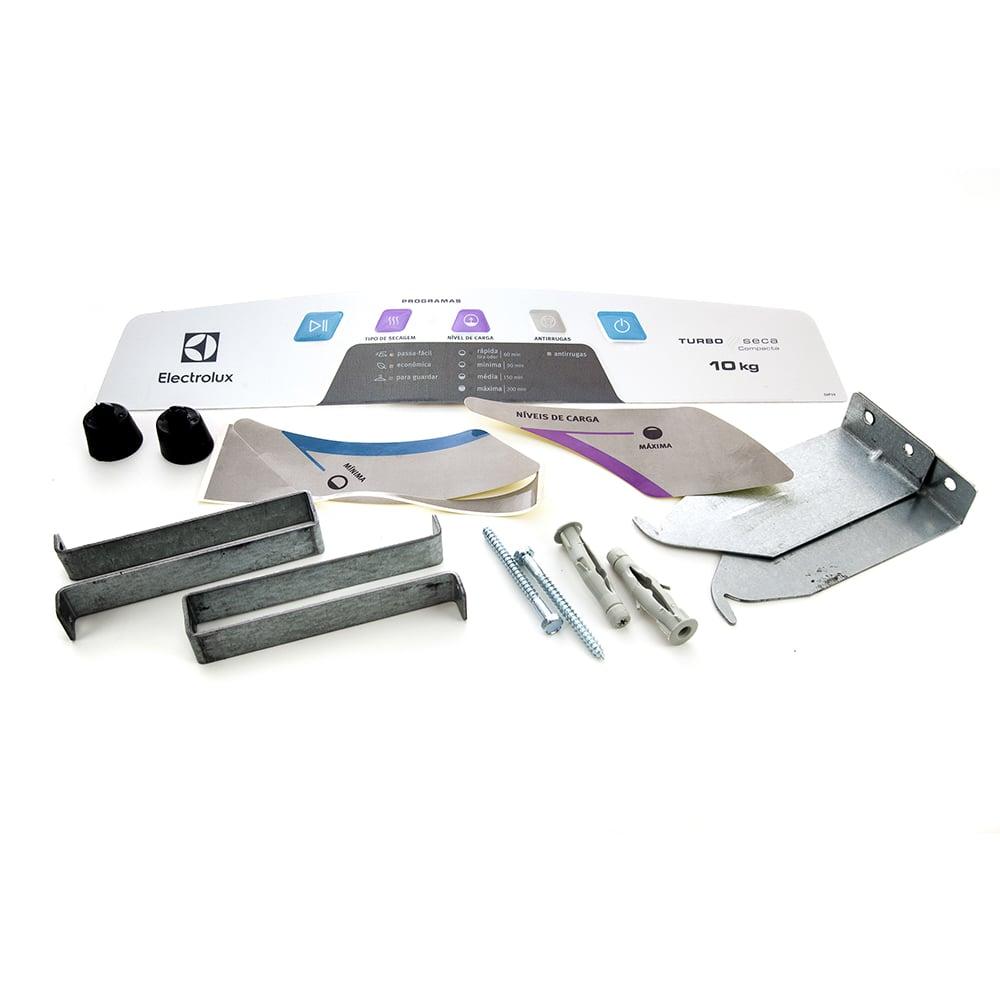 Kit Instalação Secadora De Roupas Svp10 Svp11 Electrolux - 80000620