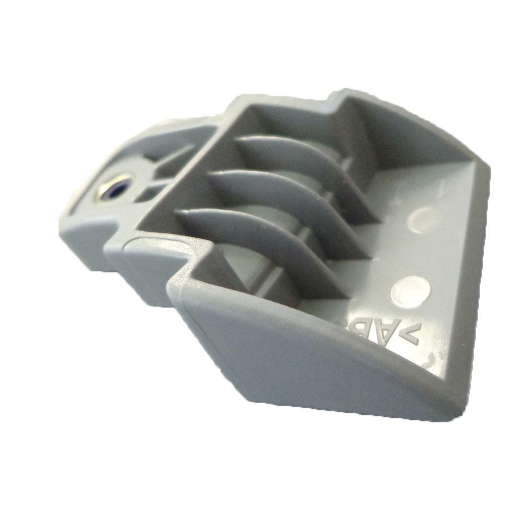 Kit Suportes Puxador Portas Geladeira Electrolux Db52x 67404031 + 67404032