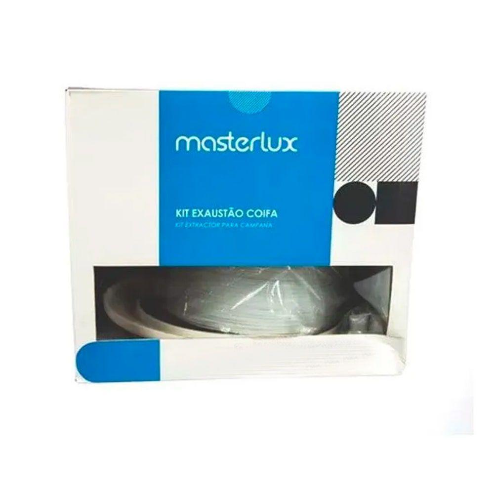 Kit Ventilação Instalação Para Coifas Pvc 120mm Masterlux - 80000509