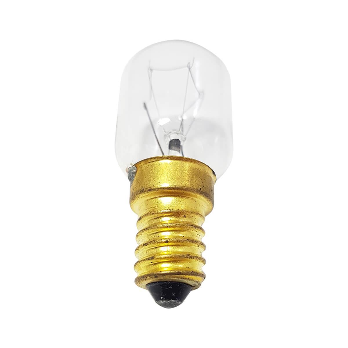 Lâmpada Para Geladeira Micro-ondas Fogão Forno Rosca Grossa 17mm 127V 15w E-17 T.22
