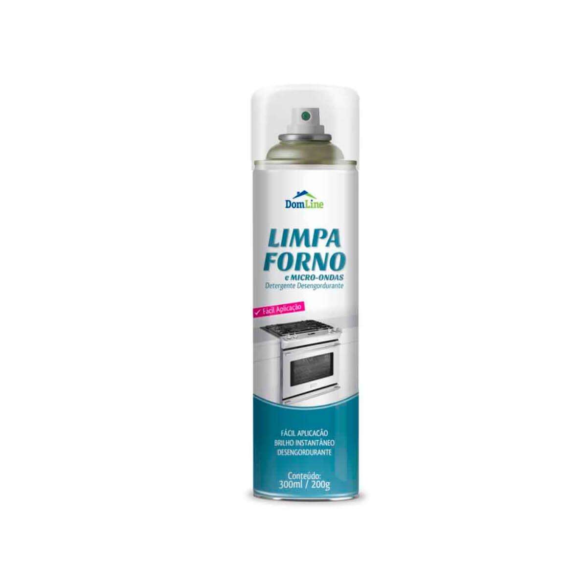 Limpa Forno e Micro-ondas Aerossol 300ml DomLine