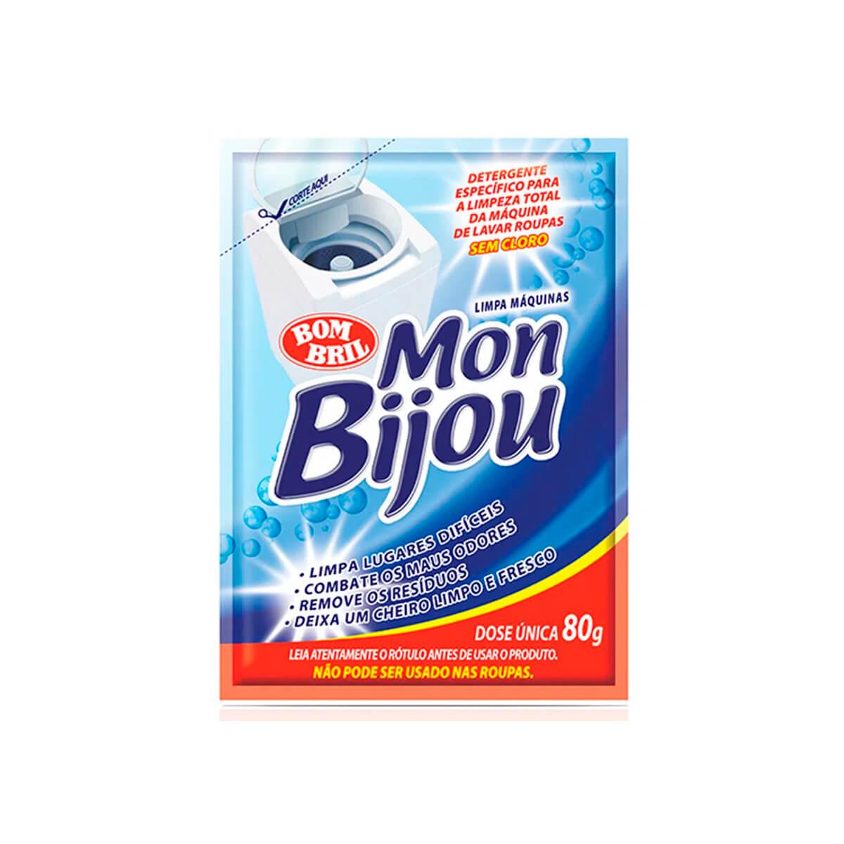 Limpa Máquinas De Lavar Roupas Mon Bijou Sachê 80g