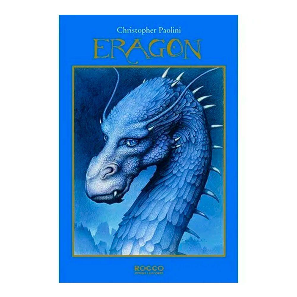 Livro Eragon Ciclo A Herança Livro 1 - Christopher Paolini - Seminovo