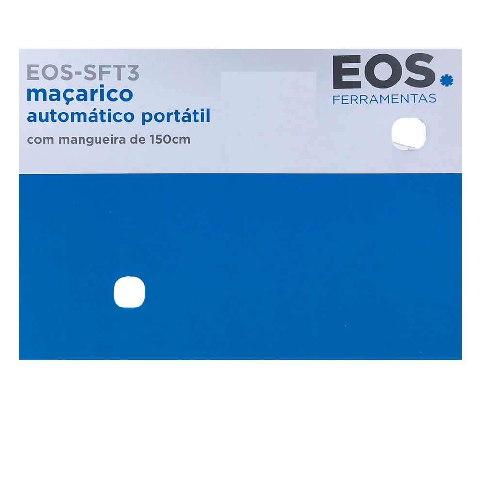 Maçarico Automático Portátil Com Mangueira 1,5M EOS-SFT-3