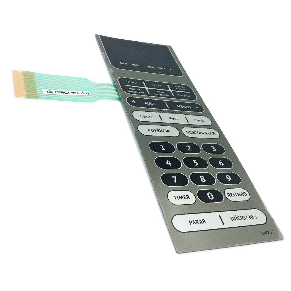 Membrana Para Painel do Micro-ondas Mex55 Electrolux Bivolt - 3518521880