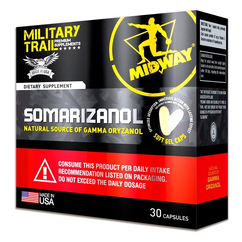 Midway Gmm Military Trail Somarizanol 30 Caps