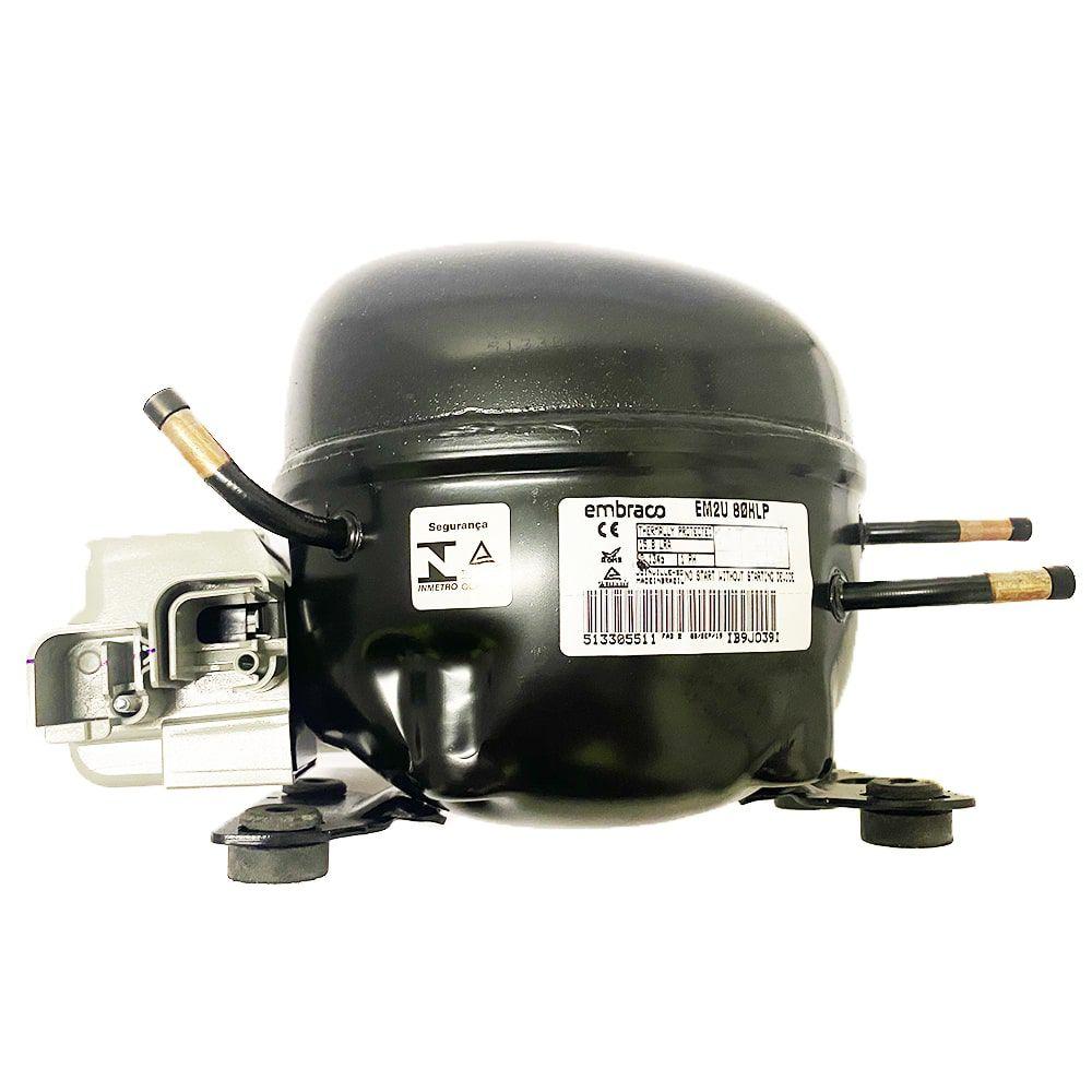 Motor Compressor Geladeira EM2U80HLP 220V/60HZ - 70203366