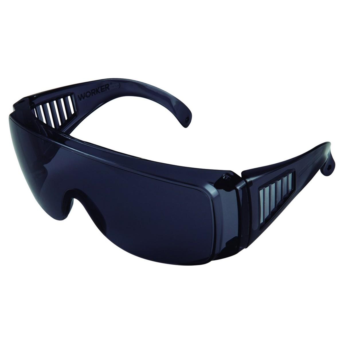 Óculos De Segurança Cinza Policarbonato Worker WK4-C - 495310