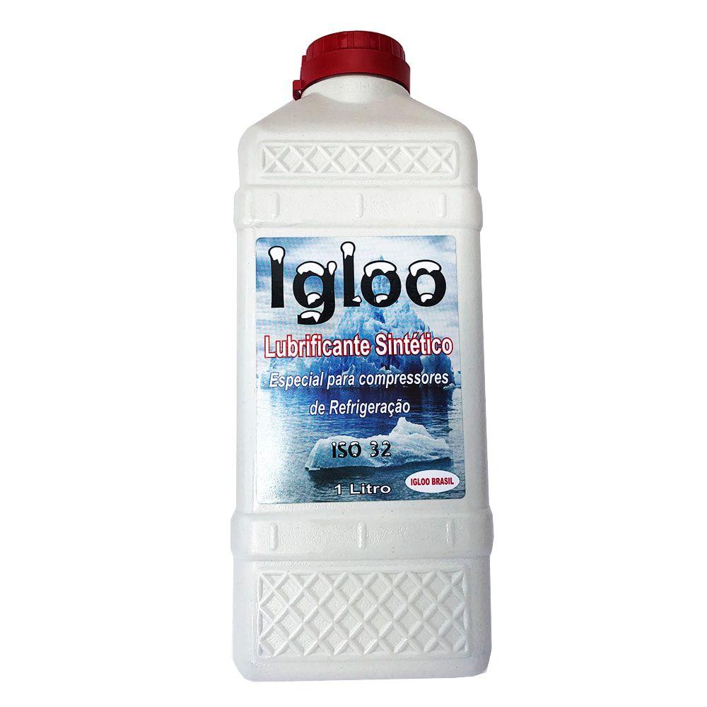 Óleo Lubrificante Sintético Para Compressores de Refrigeração ISO 32 IGLOO 1L