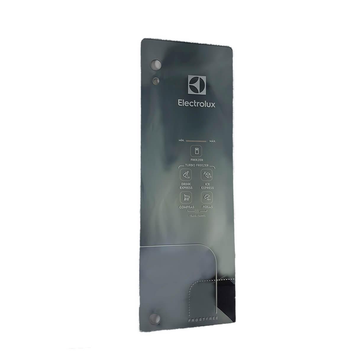 Painel Da Porta Do Refrigerador Inox Frost Free Electrolux DF54X DF53X DW54X -  A10813202