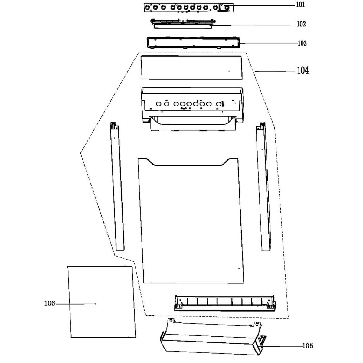 Placa De Interface Bivolt Para Lava-Louças Brastemp - W10734079