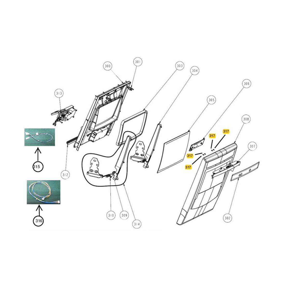 Placa de Interface Kepler para Lava Louças Brastemp Bivolt - W10364740