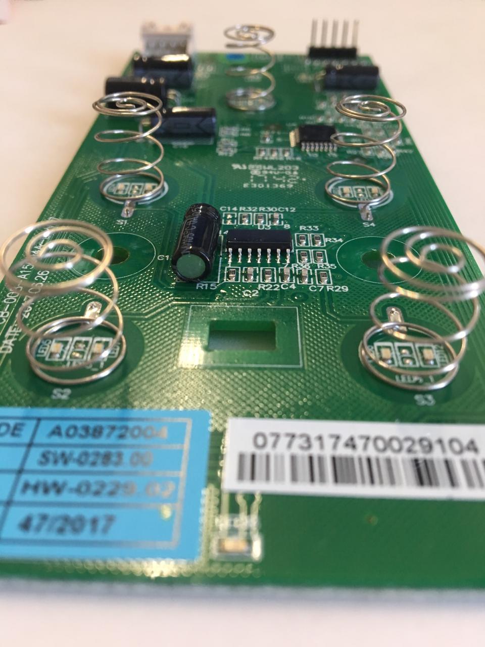 Placa De Interface Para Geladeira Df44 Df53 Df54 Electrolux - A03872004