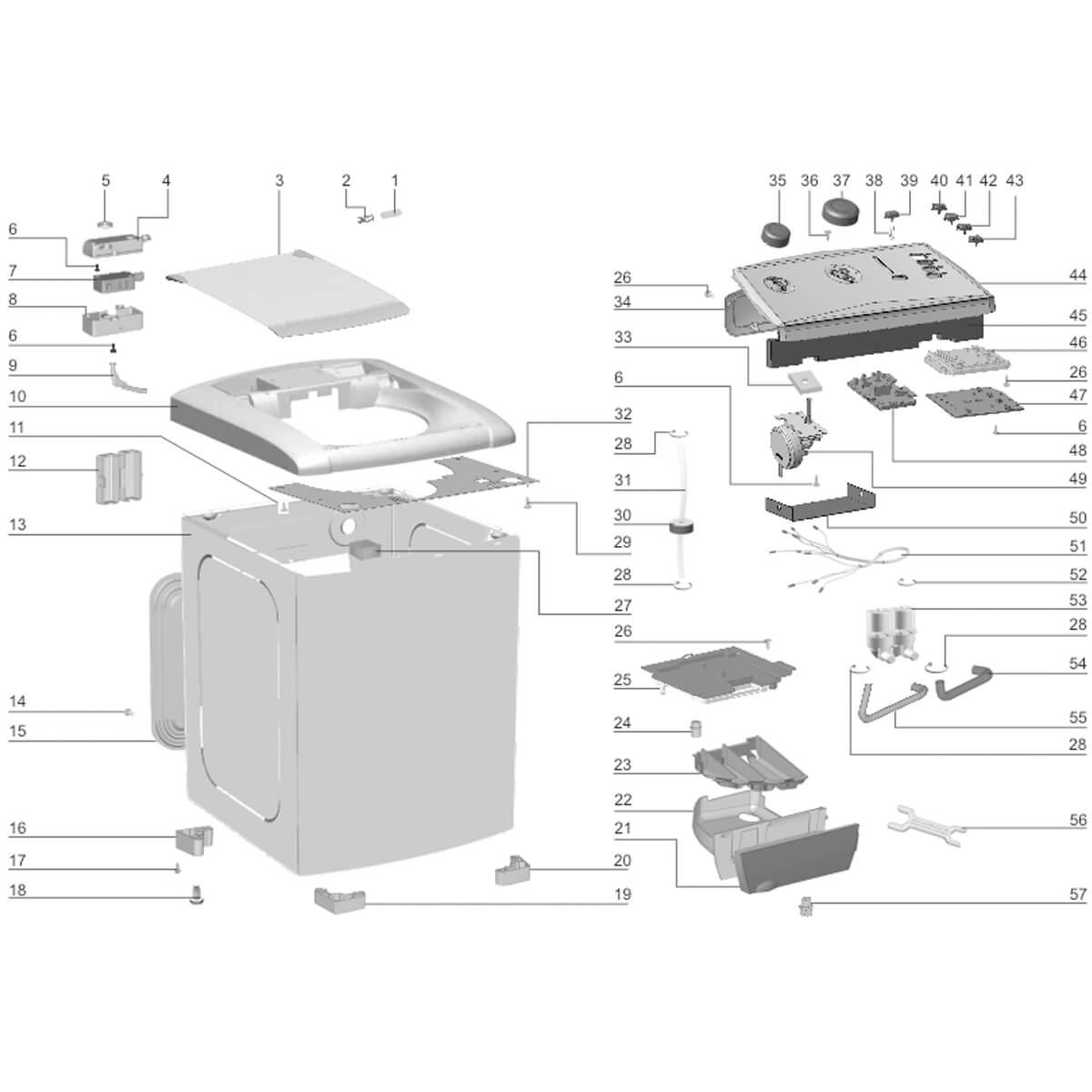 Placa De Potência Bivolt Para Lavadora De Roupas Electrolux LT11F - 70201675